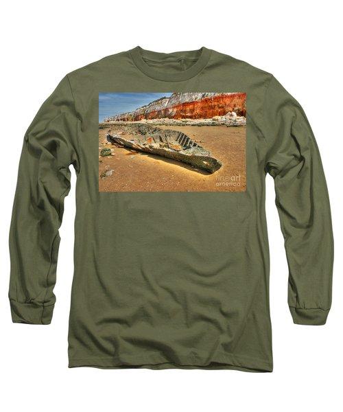 Coastal Skeleton Long Sleeve T-Shirt