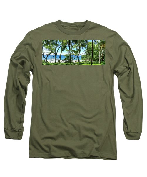 Coata Rica Beach 1 Long Sleeve T-Shirt