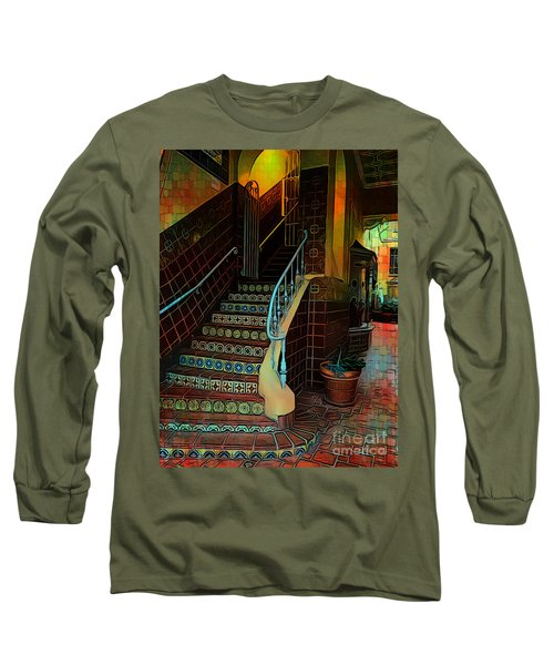 Cobblestone And Tile Long Sleeve T-Shirt