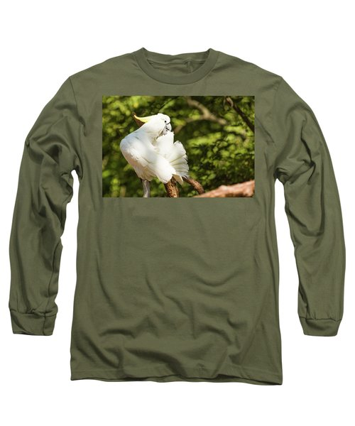 Cockatoo Preaning Long Sleeve T-Shirt