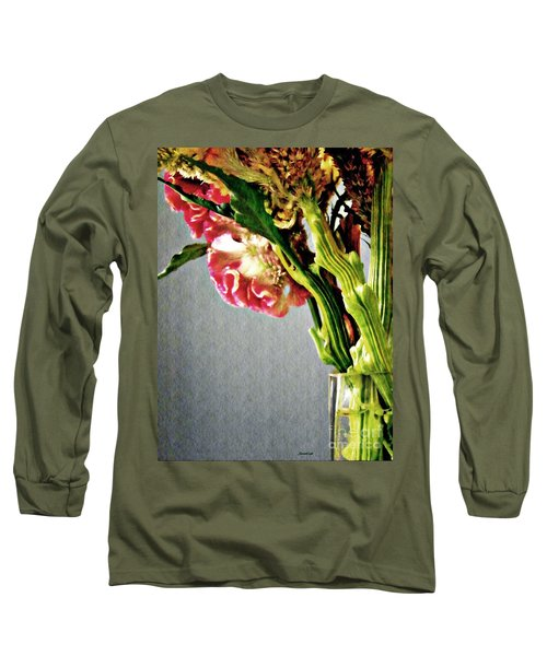 Long Sleeve T-Shirt featuring the photograph Cockscomb Bouquet 5 by Sarah Loft