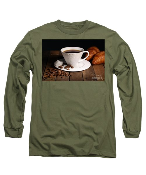 Coffee #4 Long Sleeve T-Shirt