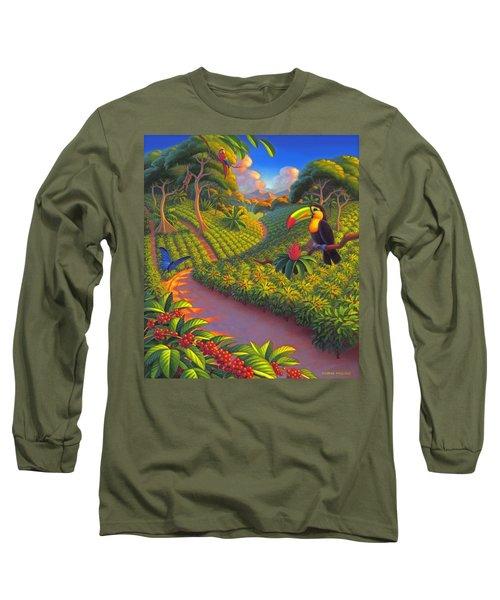 Coffee Plantation Long Sleeve T-Shirt