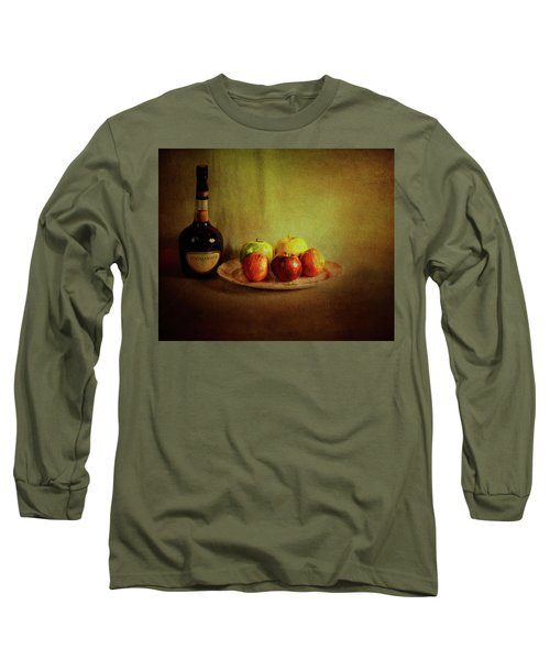 Cognac And Fruits Long Sleeve T-Shirt