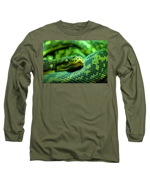 Coiled Calm Long Sleeve T-Shirt