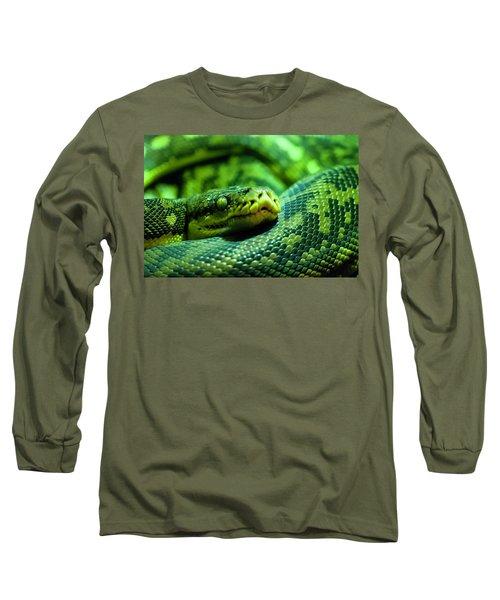 Coiled Calm Long Sleeve T-Shirt