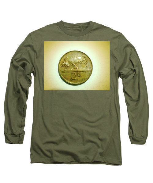Long Sleeve T-Shirt featuring the photograph Coin Series -  by Beto Machado
