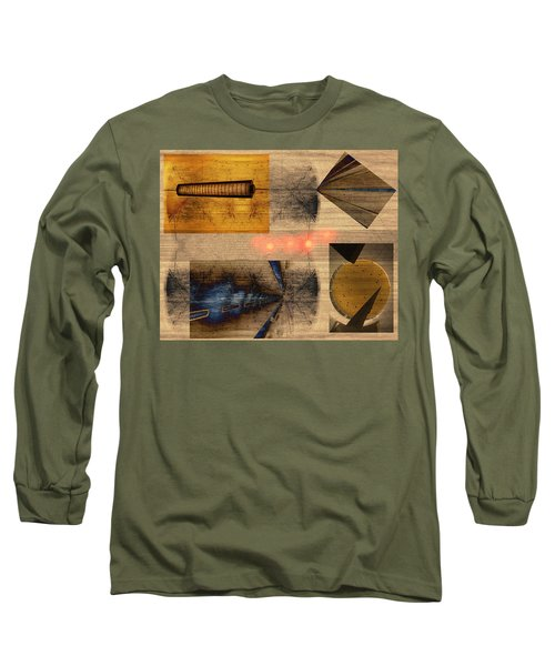 Collage - Cle Airport Long Sleeve T-Shirt