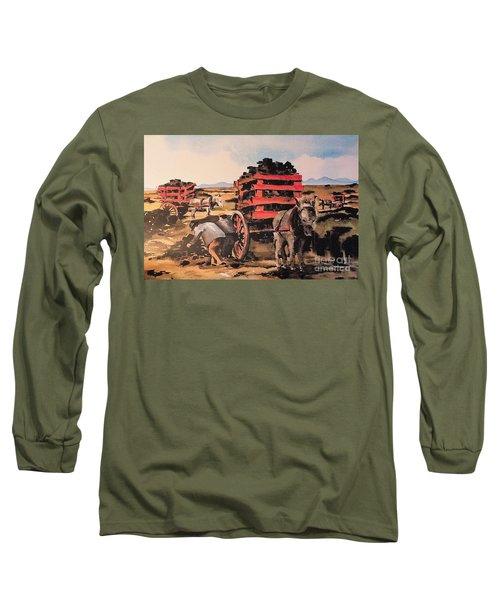 Collecting Turf  Long Sleeve T-Shirt
