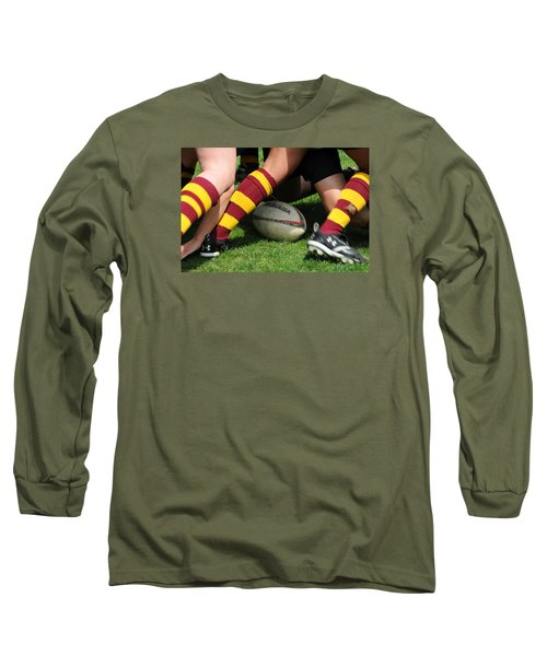 Collegiate Women's Rugby Long Sleeve T-Shirt by Mike Martin