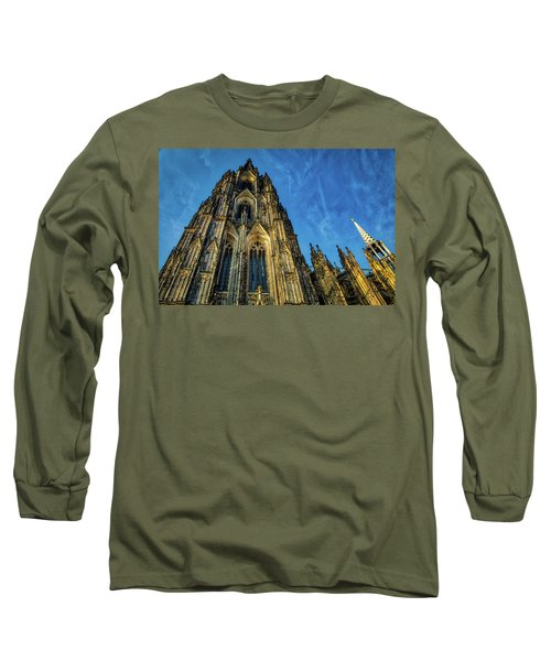 Cologne Cathedral Afternoon Long Sleeve T-Shirt