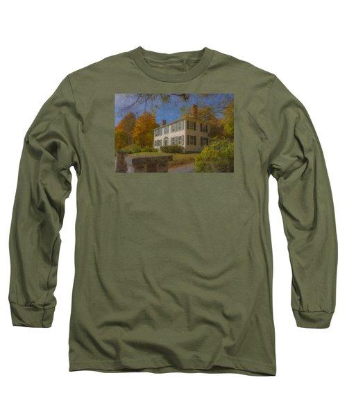 Colonial House On Main Street, Easton Long Sleeve T-Shirt