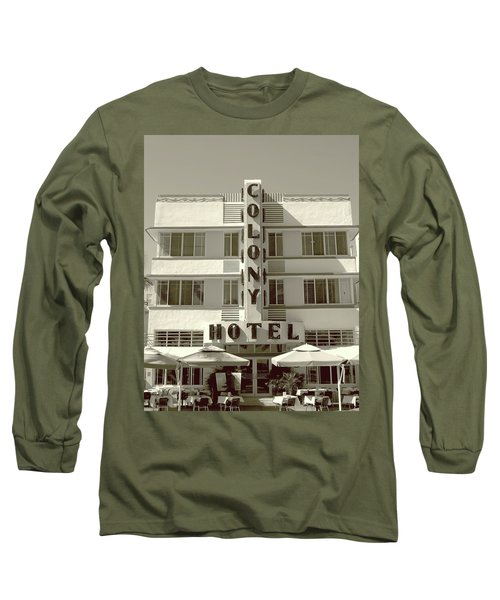 Colony Hotel South Beach Long Sleeve T-Shirt