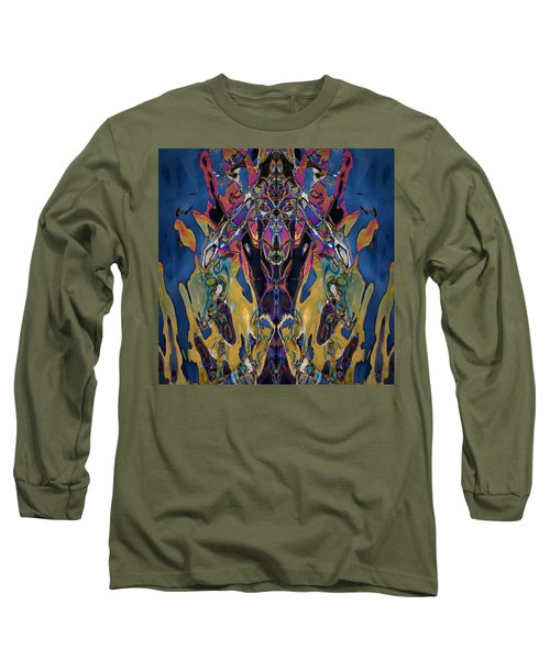 Color Abstraction Xxi Long Sleeve T-Shirt