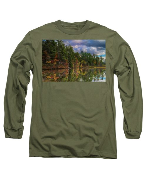 Color At Songo Pond Long Sleeve T-Shirt