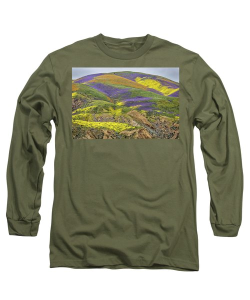 Long Sleeve T-Shirt featuring the photograph Color Mountain II by Peter Tellone