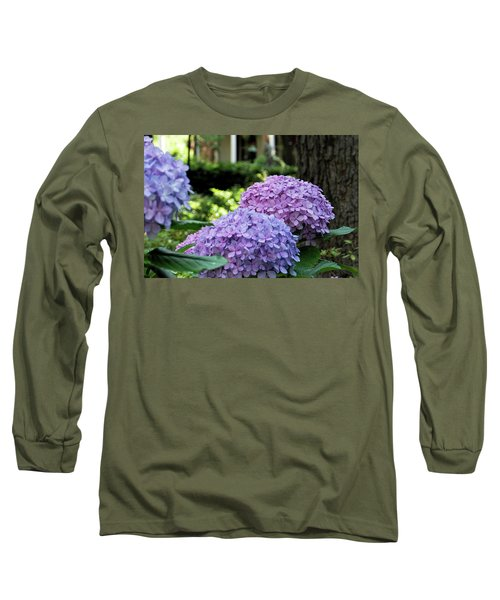 Color Of Summer Long Sleeve T-Shirt by Ed Waldrop