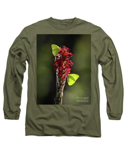 Long Sleeve T-Shirt featuring the photograph Color On Citico by Douglas Stucky