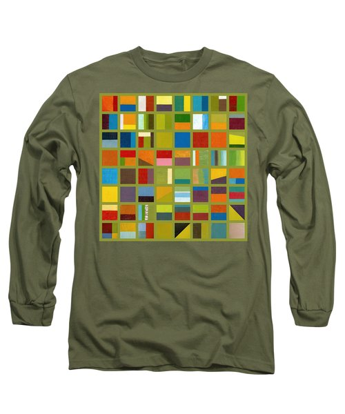 Color Study Collage 64 Long Sleeve T-Shirt