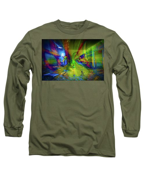 Color Wave Long Sleeve T-Shirt