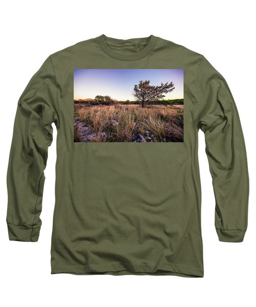 Colorado Bend State Park Gorman Falls Trail #2 Long Sleeve T-Shirt by Micah Goff
