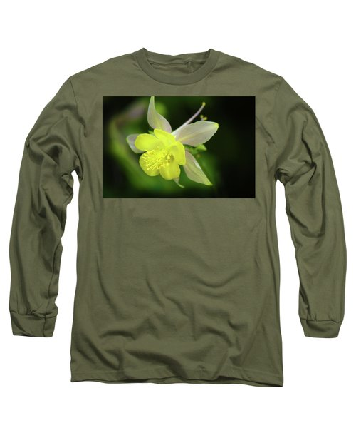 Long Sleeve T-Shirt featuring the photograph Colorado Columbine by Marie Leslie