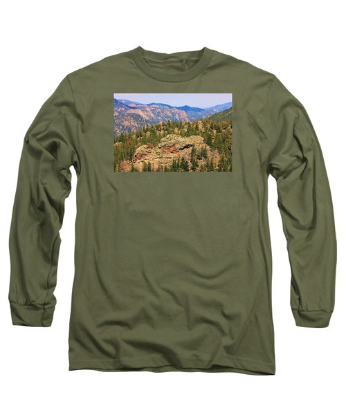 Long Sleeve T-Shirt featuring the photograph Colorado Rocky Mountains by Sheila Brown