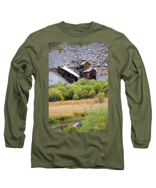 Colorado Silver Mine  Long Sleeve T-Shirt