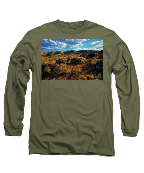 Colorado Summer Evening Long Sleeve T-Shirt