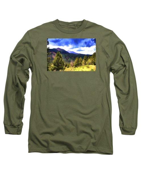 Colorado Watercolor Long Sleeve T-Shirt