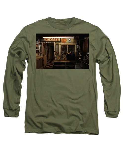 Colored Cafe Long Sleeve T-Shirt