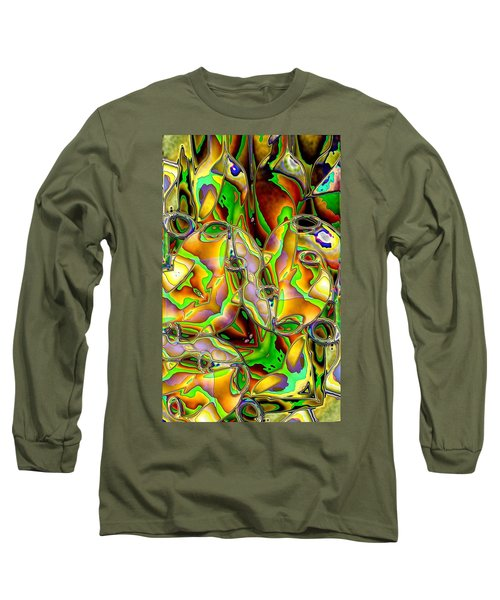 Colored Film Long Sleeve T-Shirt by Ron Bissett