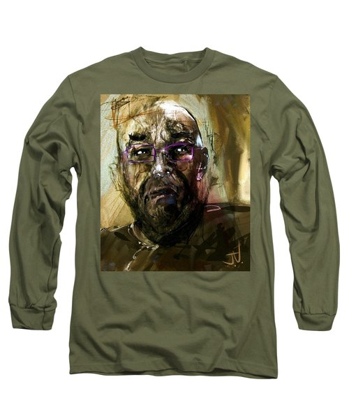 Colored Glasses Long Sleeve T-Shirt by Jim Vance
