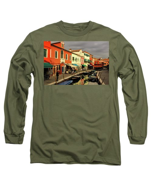 Colorful Burano Long Sleeve T-Shirt