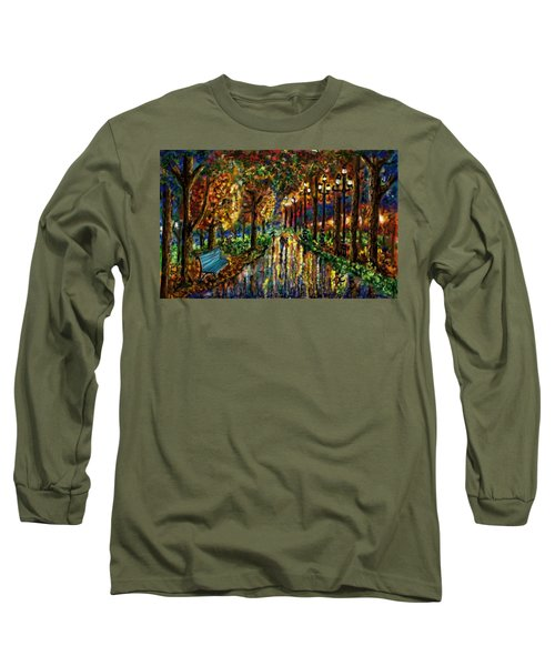 Colorful Forest Long Sleeve T-Shirt