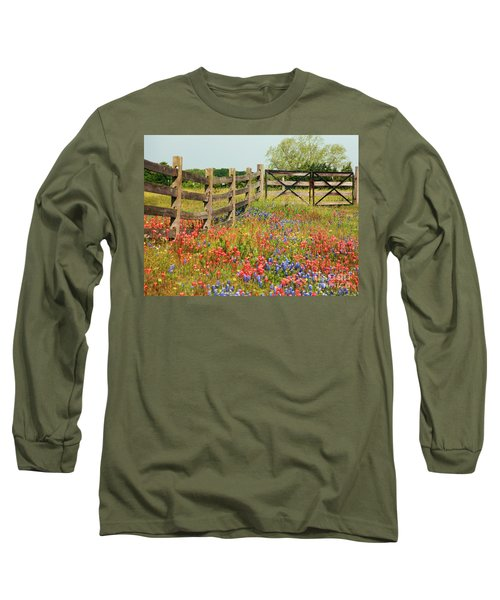 Colorful Gate Long Sleeve T-Shirt