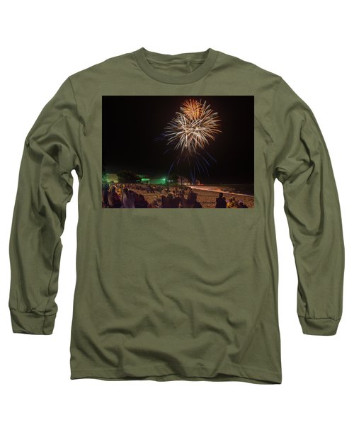 Long Sleeve T-Shirt featuring the photograph Colorful Kewaunee, Fourth by Bill Pevlor