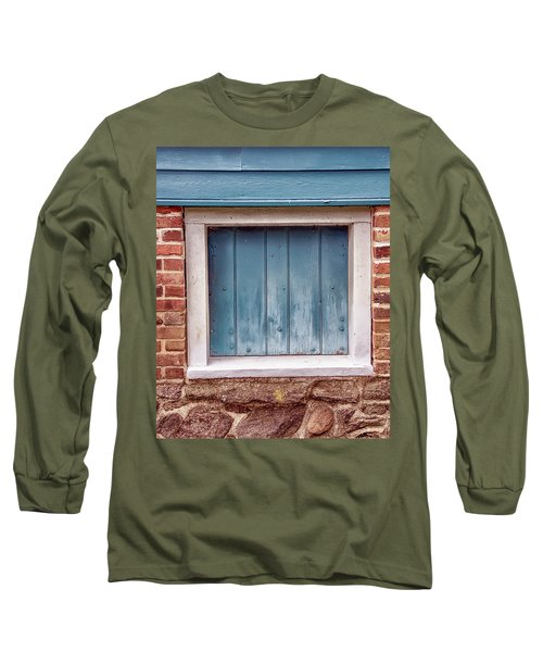 Colorful Nonwindow At Walnford Long Sleeve T-Shirt by Gary Slawsky
