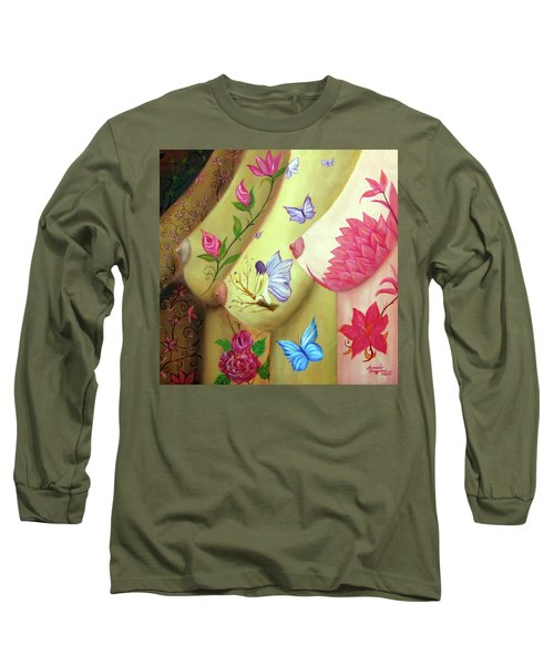 Colorful Palette Long Sleeve T-Shirt