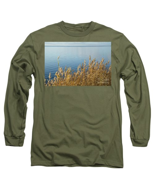 Colorful Reeds Long Sleeve T-Shirt by Kennerth and Birgitta Kullman