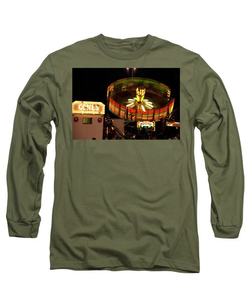 Colorful Round Up Wheel Long Sleeve T-Shirt