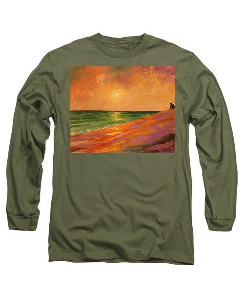 Colorful Sunset Long Sleeve T-Shirt
