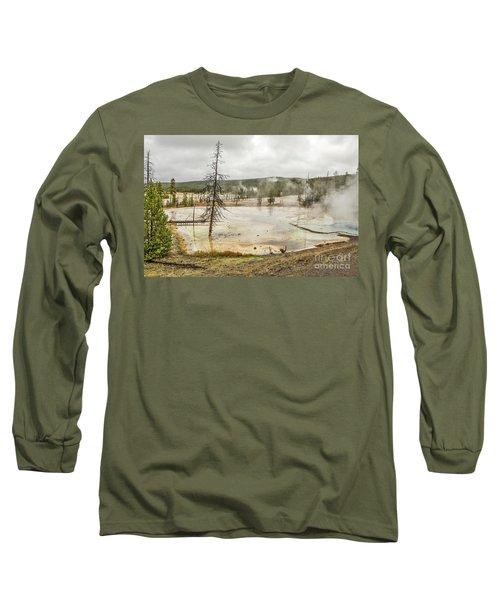 Colorful Thermal Pool Long Sleeve T-Shirt by Sue Smith