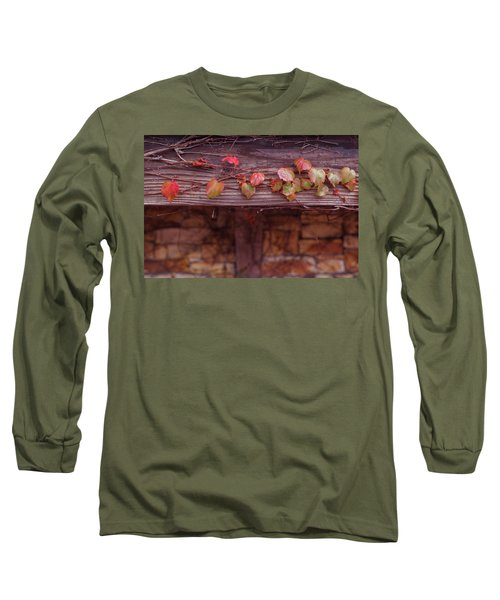 Colorful Tree Leaves Changing Color For Auyumn,fall Season In Oc Long Sleeve T-Shirt