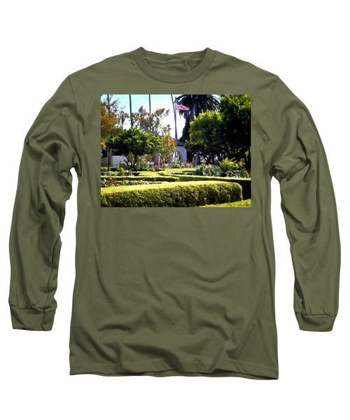 Long Sleeve T-Shirt featuring the photograph Colors In The Garden by Glenn McCarthy Art and Photography
