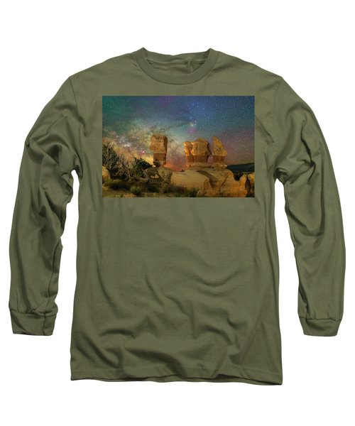 Colors Of Darkness Long Sleeve T-Shirt