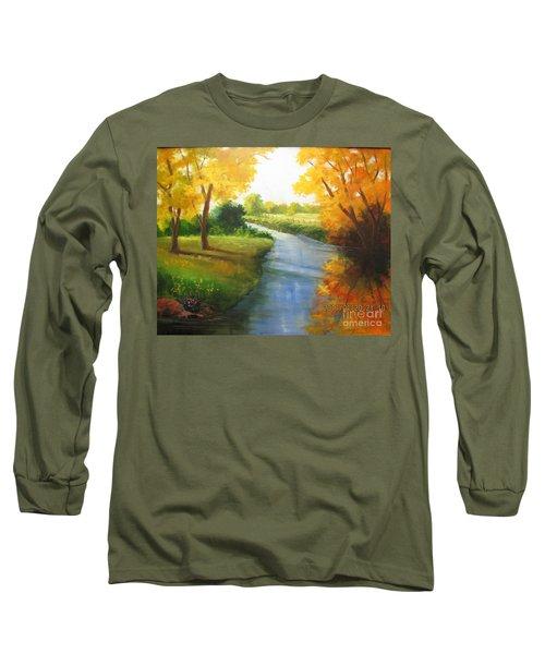 Colors Of Fall Long Sleeve T-Shirt