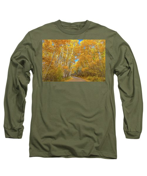 Long Sleeve T-Shirt featuring the photograph Colors Of Fall by Darren White
