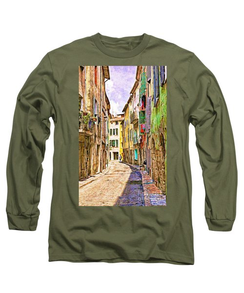 Colors Of Provence, France Long Sleeve T-Shirt