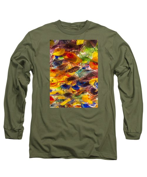 Long Sleeve T-Shirt featuring the photograph Colors by Tyson and Kathy Smith